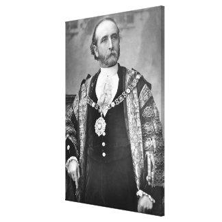 Sir James Whitehead, señor alcalde de Londres Impresión En Lienzo Estirada