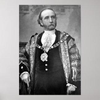 Sir James Whitehead, señor alcalde de Londres Posters