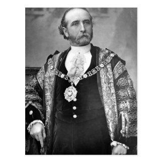 Sir James Whitehead, señor alcalde de Londres Postales