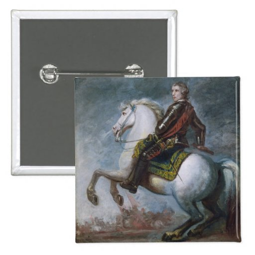 Sir Jeffrey Amherst (1717-97) c.1768 (oil on canva Pinback Buttons