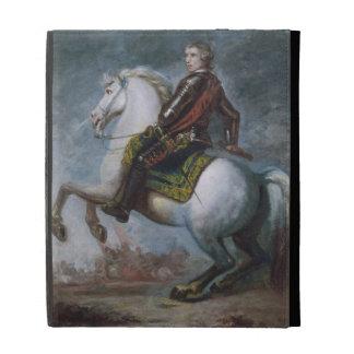 Sir Jeffrey Amherst (1717-97) c.1768 (oil on canva iPad Folio Cover