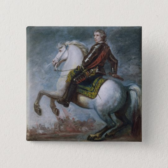 Sir Jeffrey Amherst (1717-97) c.1768 (oil on canva Pinback Button