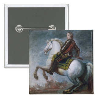 Sir Jeffrey Amherst (1717-97) c.1768 (oil on canva Pinback Button
