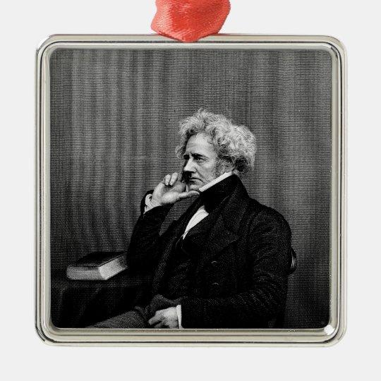 Sir John F.W. Herschel Metal Ornament