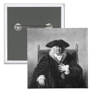 Sir John Fielding Pinback Button