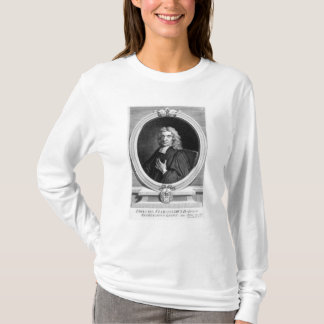 Sir John Flamsteed, engraved by George Vertue T-Shirt
