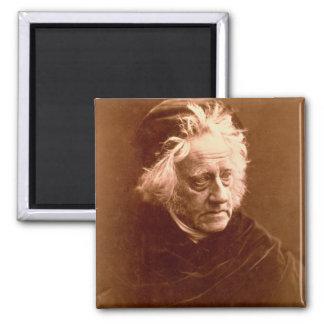 Sir John Frederick William Herschel (1792-1871) 18 2 Inch Square Magnet