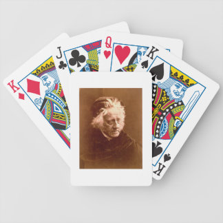 Sir John Frederick William Herschel (1792-1871) 18 Bicycle Playing Cards