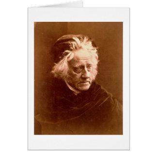 Sir John Frederick William Herschel (1792-1871) 18 Card