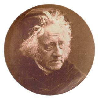 Sir John Frederick William Herschel (1792-1871) 18 Dinner Plate