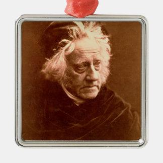 Sir John Frederick William Herschel (1792-1871) 18 Metal Ornament