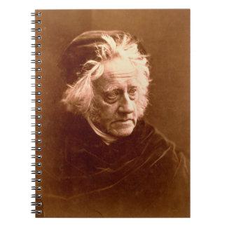 Sir John Frederick William Herschel (1792-1871) 18 Notebook