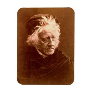 Sir John Frederick William Herschel (1792-1871) 18 Rectangular Photo Magnet