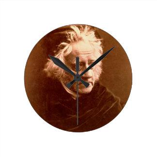 Sir John Frederick William Herschel (1792-1871) 18 Round Wallclock