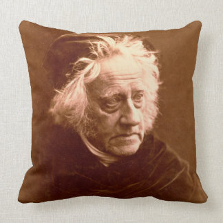 Sir John Frederick William Herschel (1792-1871) 18 Throw Pillow