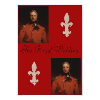 "Sir John Moore portrait by Sir Thomas Lawrence,... 5"" X 7"" Invitation Card"