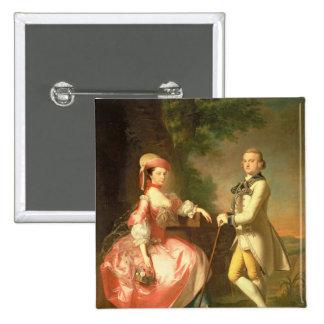Sir John Pole, 5th Baronet Button