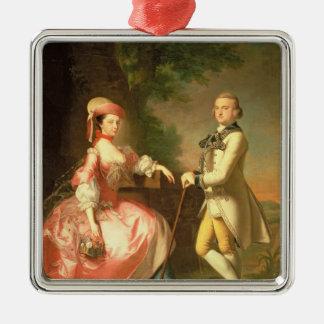 Sir John Pole, 5th Baronet Metal Ornament