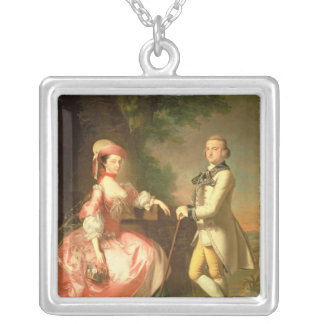 Sir John Pole, 5th Baronet Silver Plated Necklace