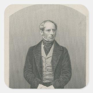 Sir John Somerset Pakington Square Sticker