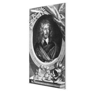 Sir John Suckling Canvas Print