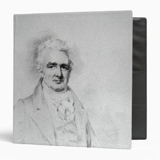 Sir John Thomas Stanley Bart 3 Ring Binder