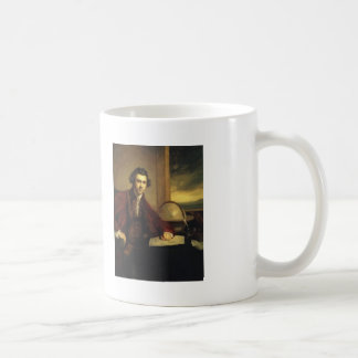 Sir José Banks de Joshua Reynolds Taza Básica Blanca