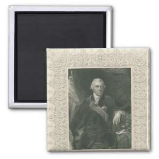 Sir Joseph Banks 2 Inch Square Magnet