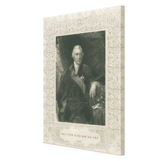 Sir Joseph Banks Canvas Print