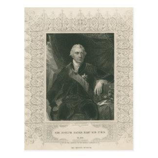 Sir Joseph Banks Postcard