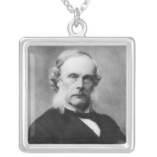 Sir Joseph Lister Silver Plated Necklace