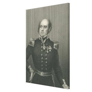 Sir Juan Franklin Impresión En Lona