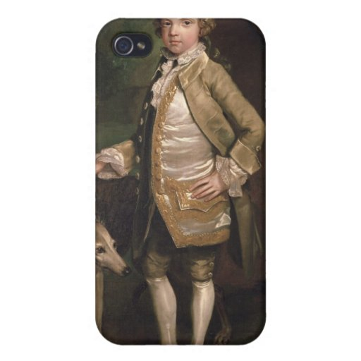 Sir Juan Nelthorpe, 6to baronet como muchacho iPhone 4/4S Fundas