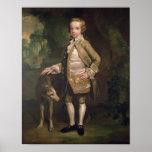 Sir Juan Nelthorpe, 6to baronet como muchacho Poster