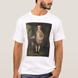 Sir Juan Nelthorpe, 6to baronet como muchacho Playera
