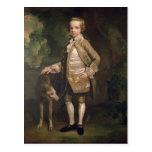 Sir Juan Nelthorpe, 6to baronet como muchacho Tarjeta Postal