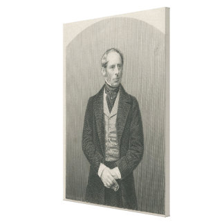 Sir Juan Somerset Pakington Impresión En Lona Estirada
