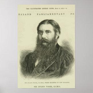 Sir Julius Vogel, KCMG Poster
