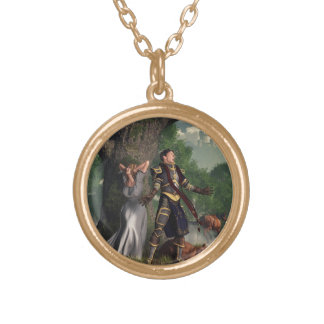Sir Justinus The Singing Knight Necklaces