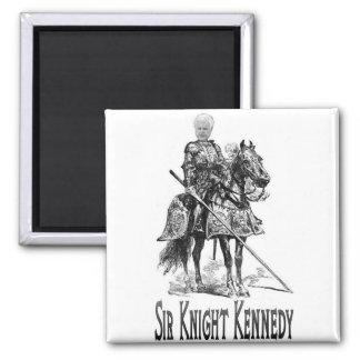 Sir Knight Kennedy Magnet Imán Cuadrado