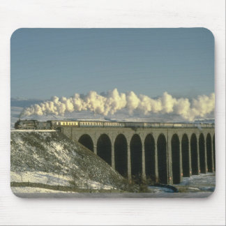 Sir Lamiel crosses Ribblehead Viaduct on the Settl Mouse Pad