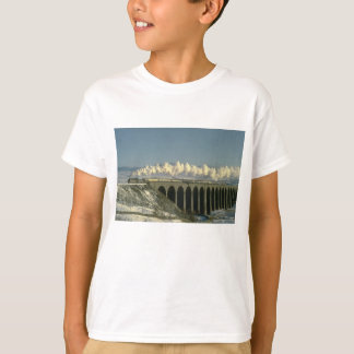 Sir Lamiel crosses Ribblehead Viaduct on the Settl T-Shirt