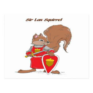 Sir Lan Squirrel of Mythdale Forest Postcard