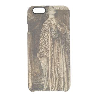 Sir Launcelot in Queen's Chamber Dante Rossetti Clear iPhone 6/6S Case