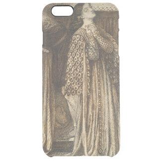Sir Launcelot in Queen's Chamber Dante Rossetti Clear iPhone 6 Plus Case
