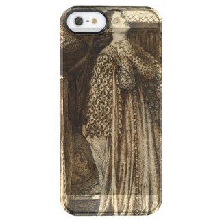 Sir Launcelot in Queen's Chamber Dante Rossetti Clear iPhone SE/5/5s Case