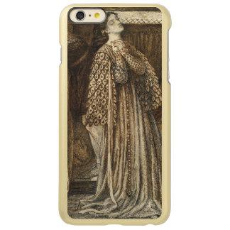 Sir Launcelot in Queen's Chamber Dante Rossetti Incipio Feather Shine iPhone 6 Plus Case
