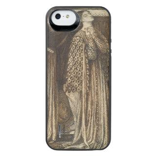 Sir Launcelot in Queen's Chamber Dante Rossetti iPhone SE/5/5s Battery Case