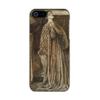 Sir Launcelot in Queen's Chamber Dante Rossetti Metallic Phone Case For iPhone SE/5/5s