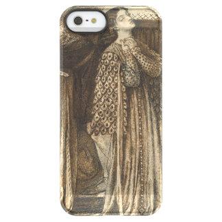 Sir Launcelot in Queen's Chamber Dante Rossetti Permafrost iPhone SE/5/5s Case